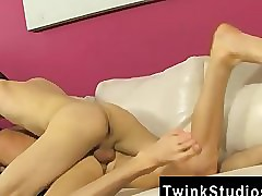 Hot elated Colby London has a..