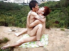 hot chinese merry sex not at home