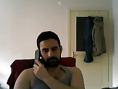 Erotic Turkish Man Masturbating