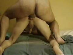 Dilf firm fucks bf ass doggy..
