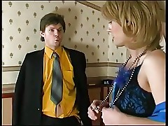 Chicken crossdresser gets fucked