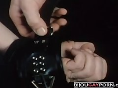 Shackled Blowjob detach from..