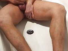 pissing added to cuming..